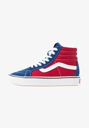 Sneakers alte - true blue/chili pepper