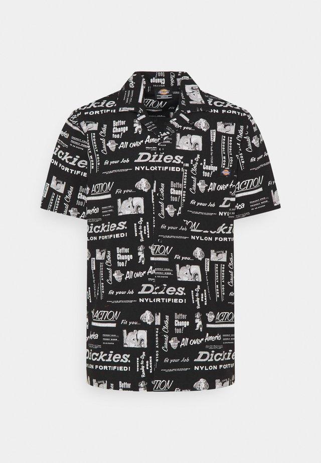 PILLAGER - Camicia - black
