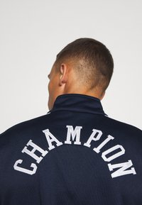 Champion - ROCHESTER RETRO BASKET FULL ZIP - Träningsjacka - dark blue/white - 5