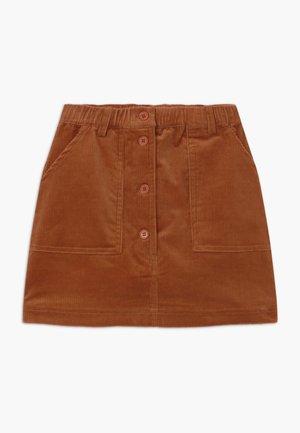 GARANCE - Áčková sukně - baked clay