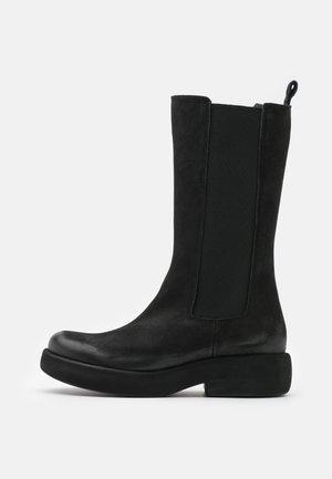 EXTRA - Platform boots - pacific black