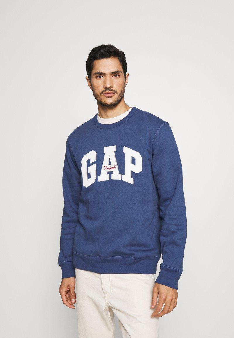 GAP - ORIGINAL ARCH CREW - Sweater - blue shade