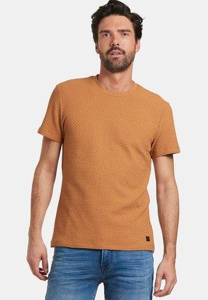 TERRY - Print T-shirt - brown