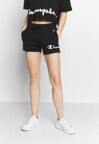 Champion - SHORTS - Sports shorts - black - 0