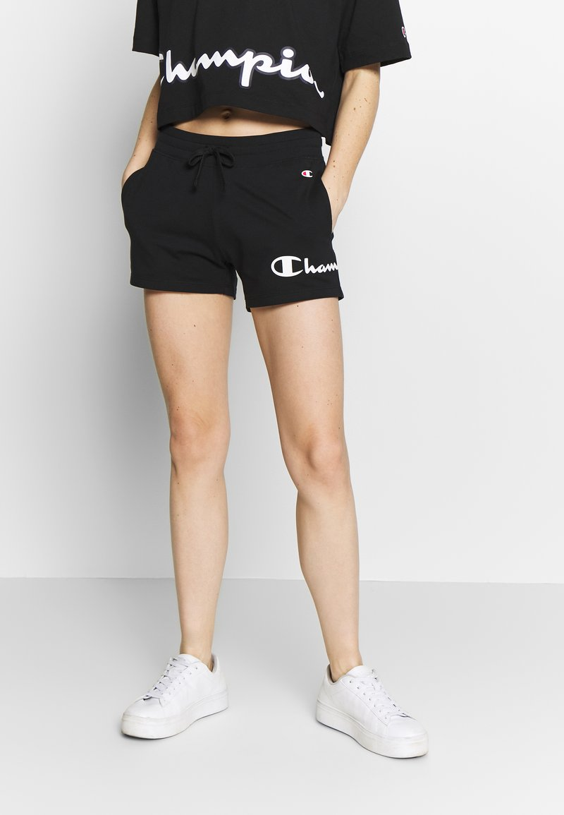 Champion - SHORTS - Sports shorts - black