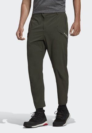 TERREX HIKE TROUSERS - Outdoorbroeken - green