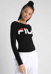 Fila - YULIA BODY - Long sleeved top - black - 0