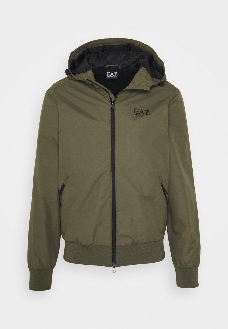 EA7 Emporio Armani - GIUBBOTTO - Light jacket - grape leaf