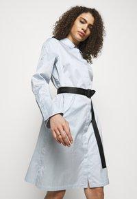 KARL LAGERFELD - CHINTZ SHIRT DRESS - Shirt dress - artic ice - 3