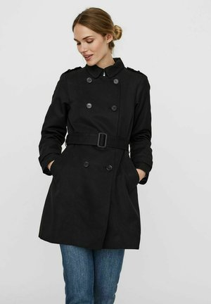 VMMADISON - Trenchcoat - black