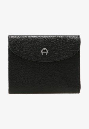 BASIC COMBINATION FLAP WALLET - Wallet - black