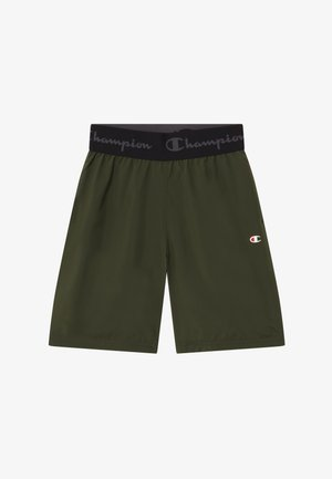 CHAMPION X ZALANDO BOYS PERFORMANCE SHORT - Krótkie spodenki sportowe - dark green