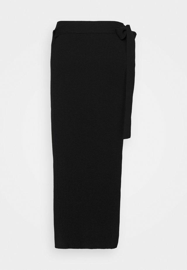 FAURIS - Maxi skirt - black