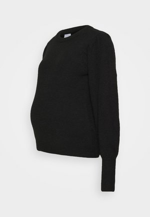 PCMPAM ONECK - Jumper - black