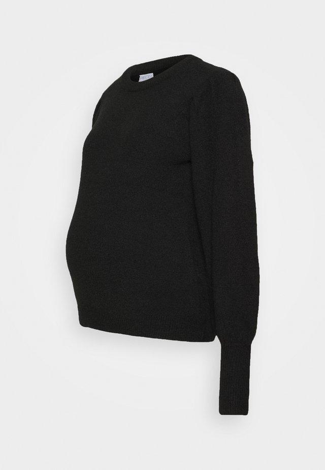 PCMPAM ONECK - Jersey de punto - black
