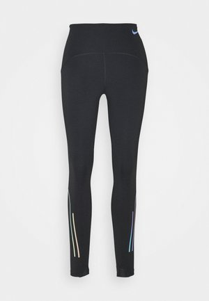 SPEED 7/8 MATTE - Tights - black/gunsmoke
