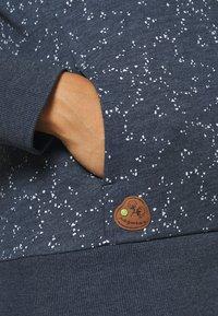 Ragwear Plus - YODA ORGANIC - Zip-up hoodie - navy - 4