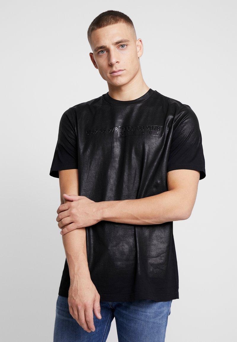Diesel - T-JUST-J1 T-SHIRT - T-shirt imprimé - black