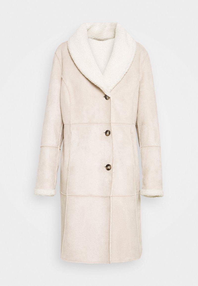 Barbara Lebek - Classic coat - stone
