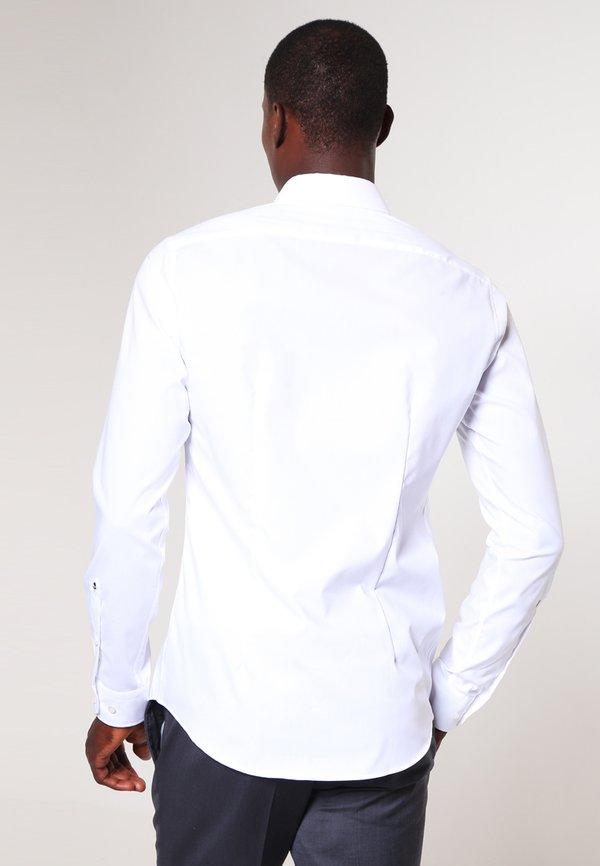 Seidensticker MODERN KENT X SLIM - Koszula biznesowa - weiss/biały Odzież Męska CZYD