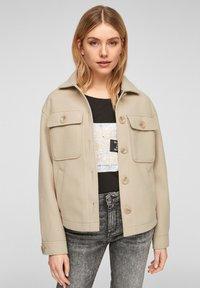 Q/S designed by - Summer jacket - beige - 0