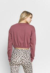 South Beach - OVERSIZED CROP - Sweatshirt - rose brown - 2