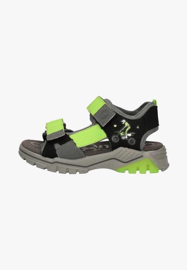 Sandales de randonnée - schwarz/grau