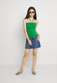 Gina Tricot - FLORENS SINGLET - Top - medium green - 1