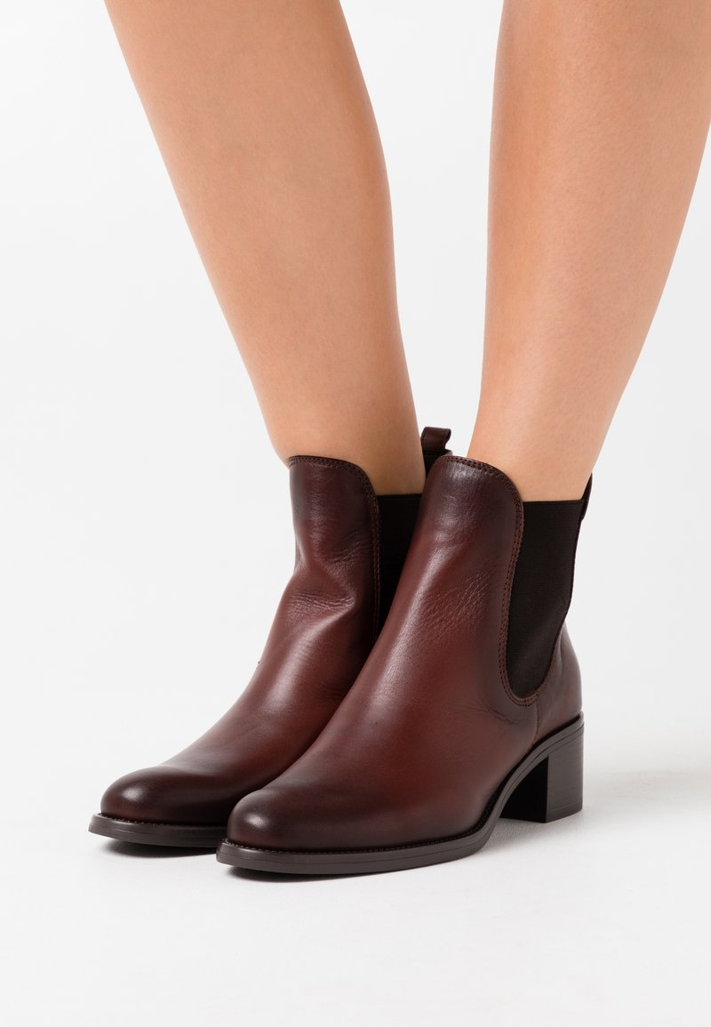 Tamaris - BOOTS - Classic ankle boots - cafe