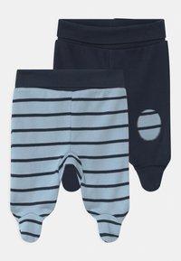 Jacky Baby - BOYS 2 PACK - Trousers - blue/dark blue - 0