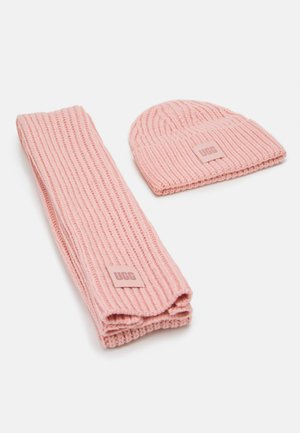 CHUNKY SET - Sjaal - light pink