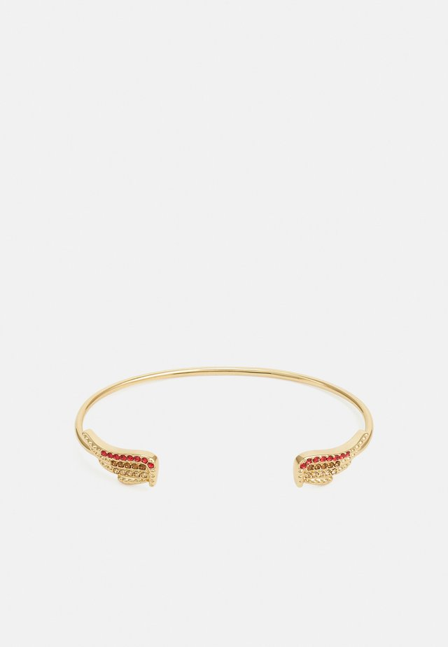 MILA TWIST CUFF - Pulsera - shiny gold-coloured