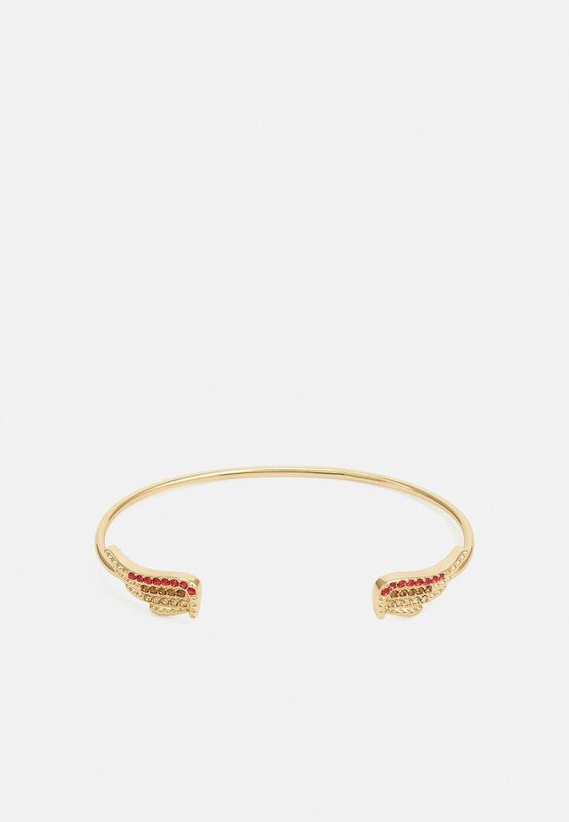 MILA TWIST CUFF - Bracelet - shiny gold-coloured