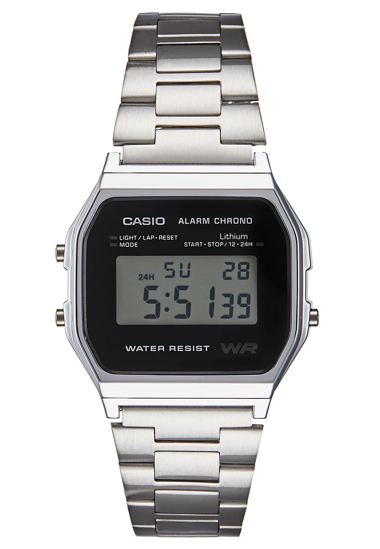 Casio Digitalklokke - silber/sølv BiHiqtCJY3uS2oV