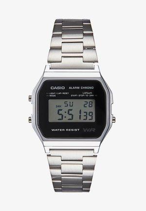 Digitální hodinky - silber