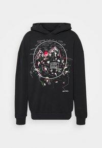 THE CRISPY HOODIE - Sweatshirt - black