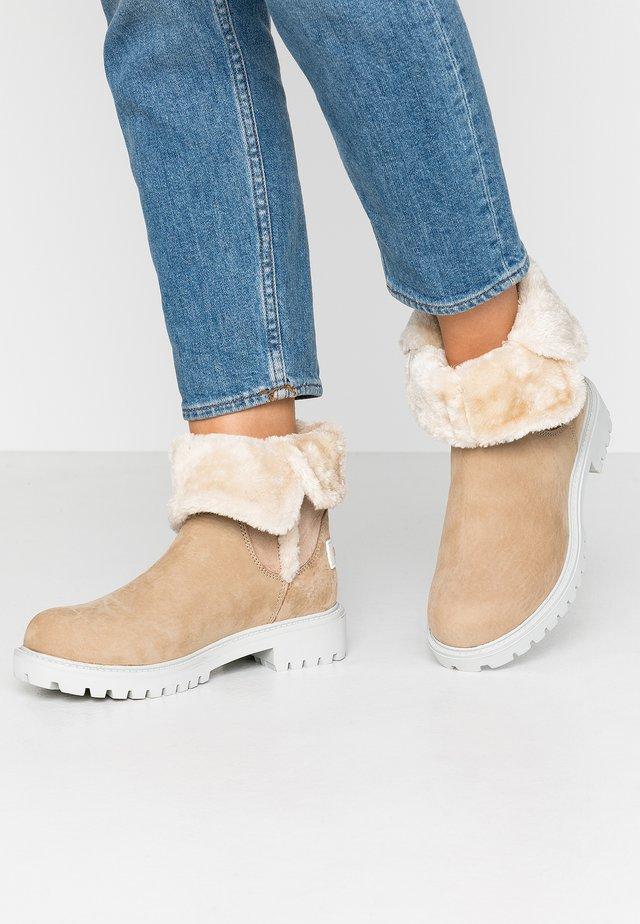 Vinterstøvler - sand