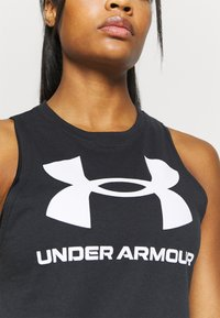 Under Armour - SPORTSTYLE GRAPHIC TANK - Sportshirt - black - 4