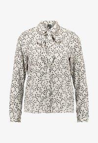 Vero Moda Petite - VMAFIA BOW - Button-down blouse - pistachio shell - 3