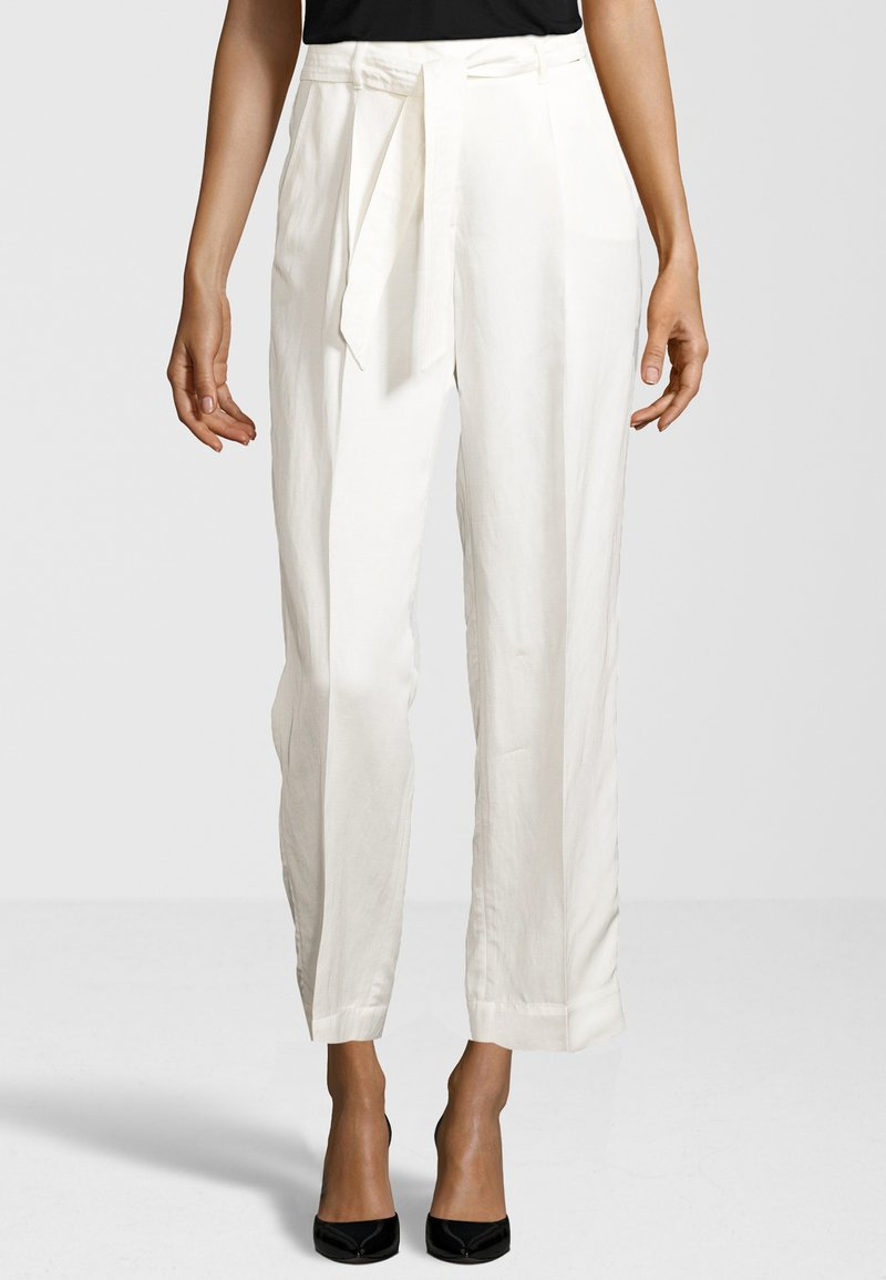 Cinque - HOSE CISOFIA - Trousers - offwhite