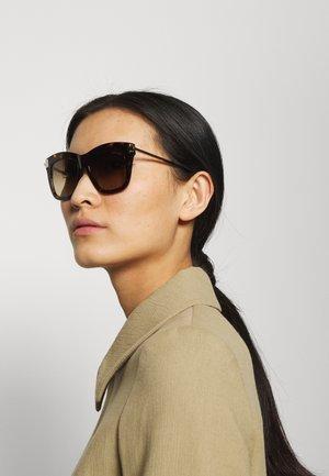Sunglasses - dark havana gradient brown