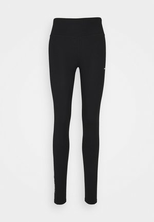 GRAPHIC LEGGING - Collants - black