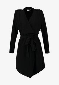 OBJANNLEE SHORT - Trenchcoat - black