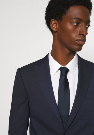 OXFORD SOLID TIE - Cravate - midnight