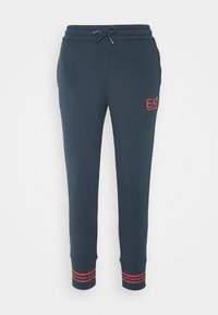 EA7 Emporio Armani - TROUSER - Tracksuit bottoms - blue nights - 0
