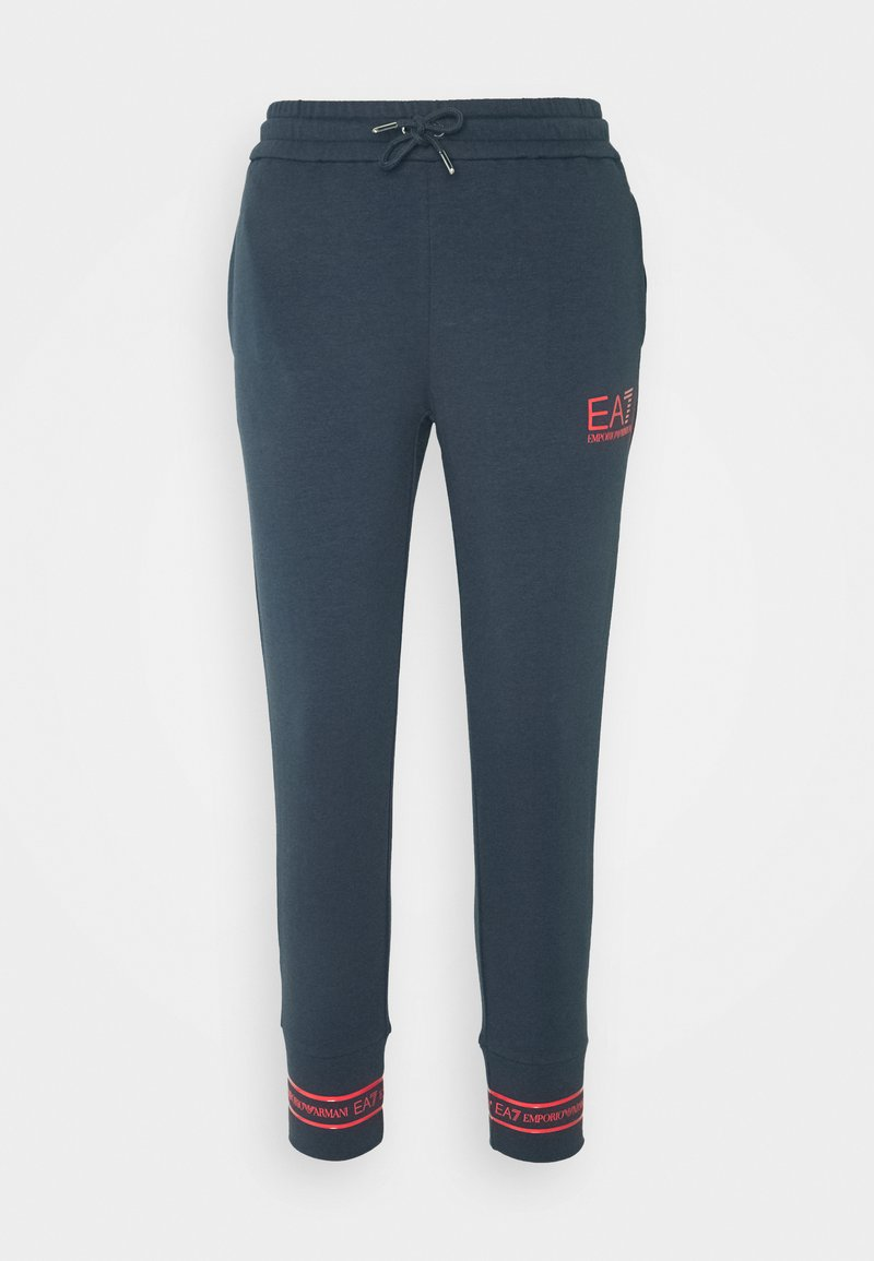 EA7 Emporio Armani - TROUSER - Tracksuit bottoms - blue nights