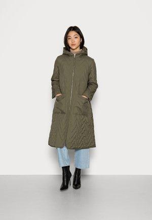 SLFNORA QUILTED COAT - Cappotto classico - kalamata
