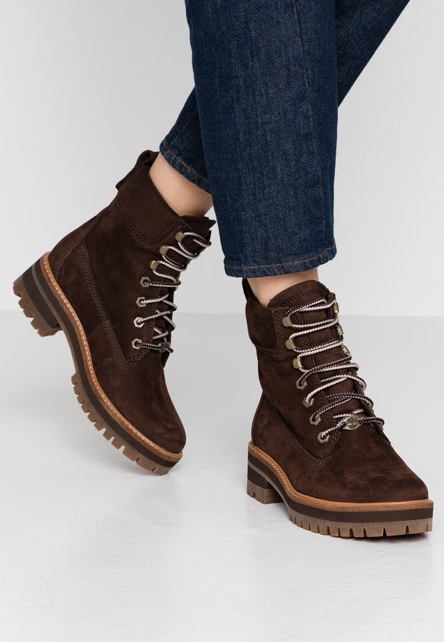 COURMAYEUR VALLEY BOOT - Lace-up ankle boots - rust