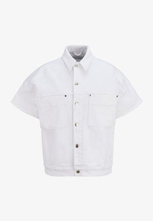 Denim jacket - whi white