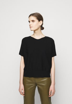 SOMELI - Basic T-shirt - schwarz